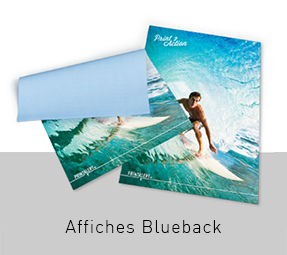 Blueback Affiches