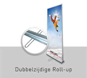 Dubbelzijdige Roll-up banners