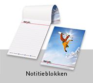 Notitieblokken en schrijfblokken