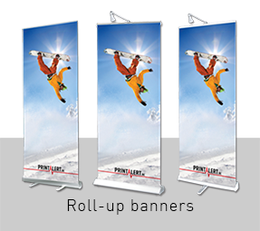 Roll-up banners Ferrari Decolit