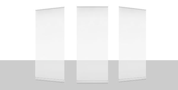 Roll-up banners Transparant
