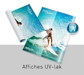UV-lak Affiches