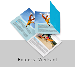 Folders Vierkant Formaat